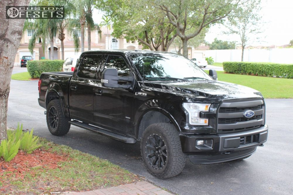 2015 F150 Black Wheels >> 2015 Ford F 150 Xd Xd818 Readylift Leveling Kit Custom Offsets