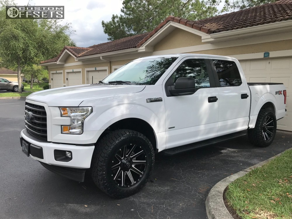 2006 Ford F150 Rims And Tires >> Fuel Contra 20x9 20 Custom Wheels