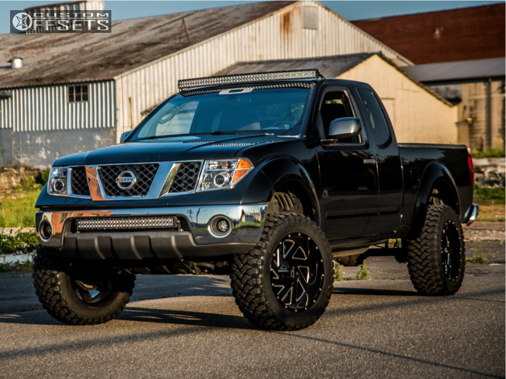2008 nissan frontier moto metal mo988 cst suspension lift 65in. Black Bedroom Furniture Sets. Home Design Ideas
