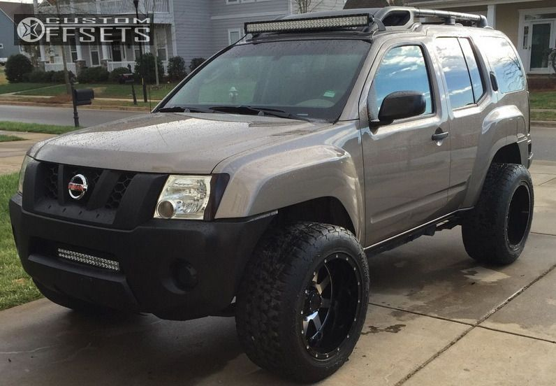 Wheel Offset 2007 Nissan Xterra Super Aggressive 3 5 Leveling Kit