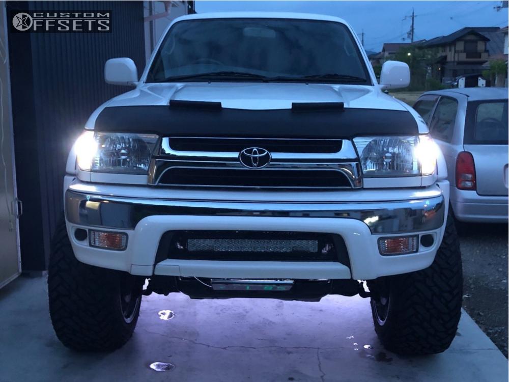 2000 Toyota 4runner Fuel Hostage D530 Stock Leveling Kit Body Lift Custom Offsets