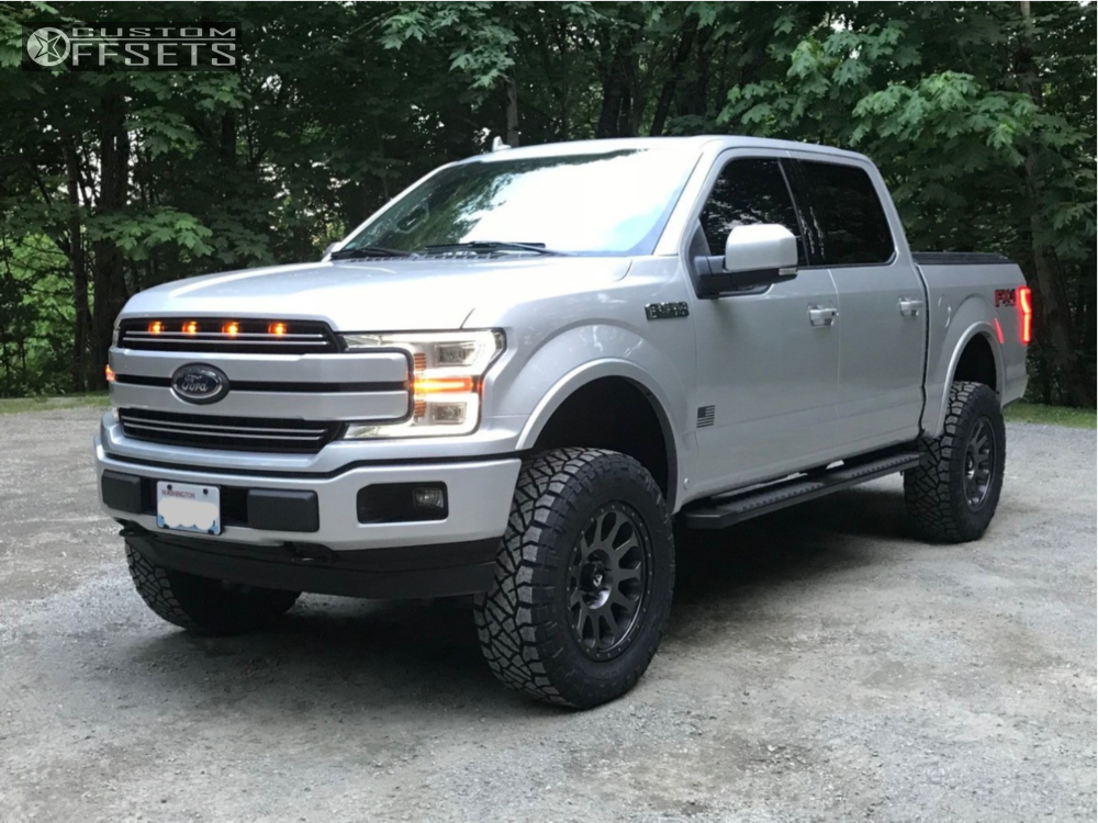 1 2018 F 150 Ford Bds Suspension Lift 6in Fuel Vector Anthracite