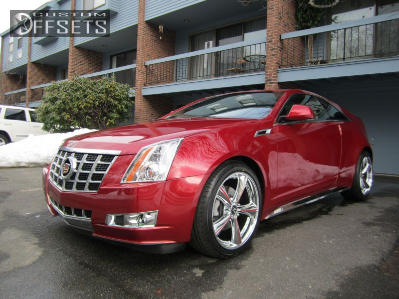 wheel offset 2013 cadillac ats flush stock custom rims. Black Bedroom Furniture Sets. Home Design Ideas