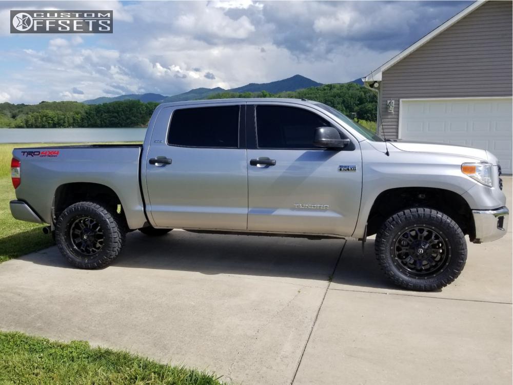 2017 Toyota Tundra Fuel Crush Low Range Off Road Leveling Kit