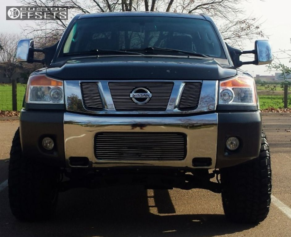 2010 Nissan Titan Fuel Octane Rough Country Suspension Lift 6in
