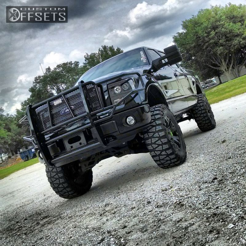 wheel offset 2013 ford f 150 slightly aggressive suspension lift 6