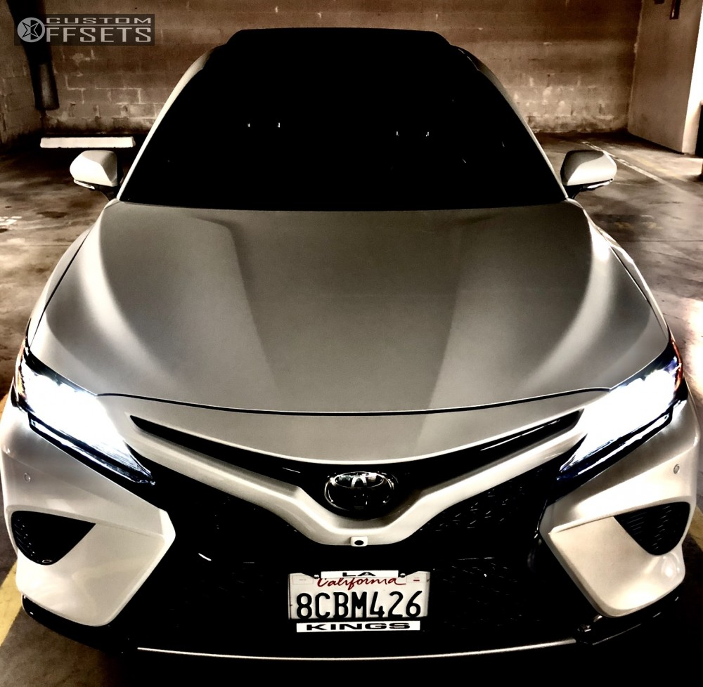 2018 Toyota Camry Bbs Ch Stock With Rims 2 Black