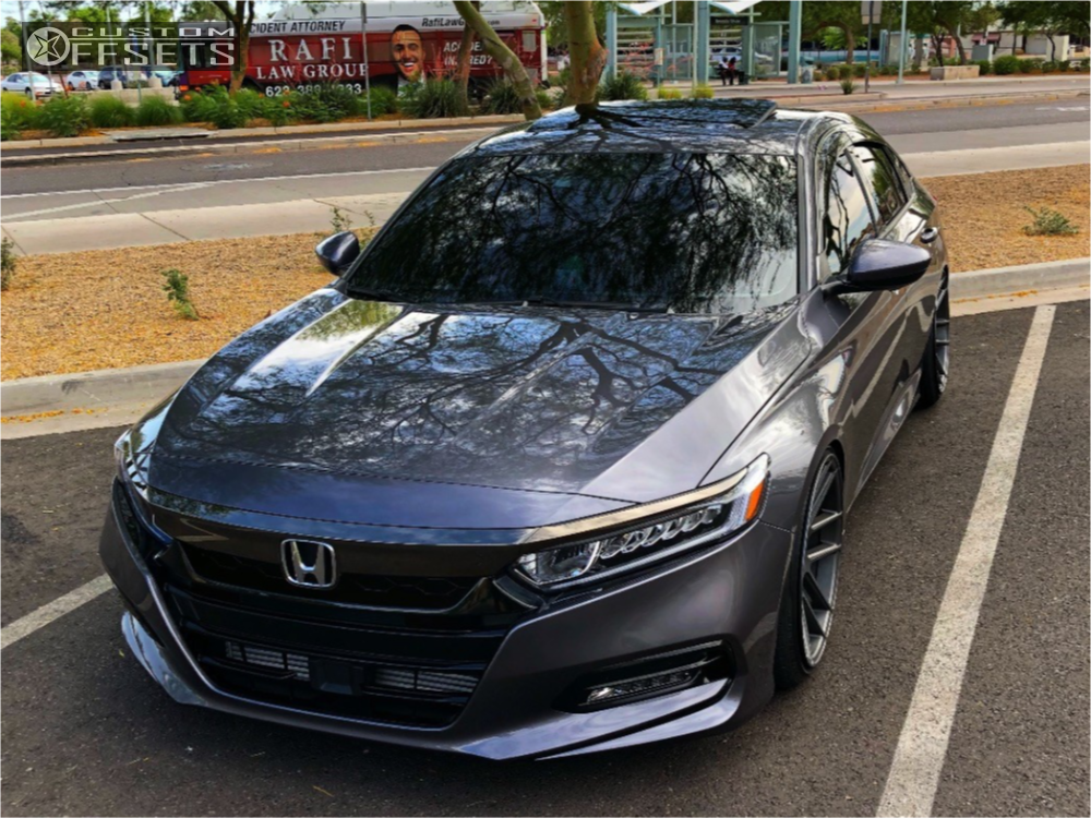 2018 Honda Accord Velgen Vmb6 D2 Racing Coilovers