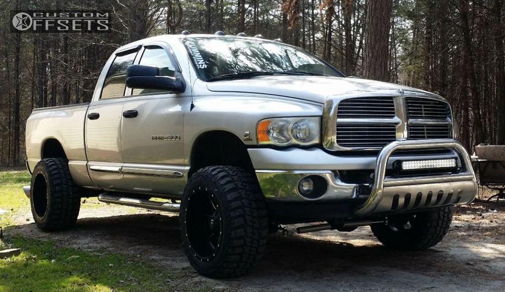 2005 Dodge Ram 2500 >> 2005 Dodge Ram 2500 Fuel Maverick Rough Country Custom Offsets