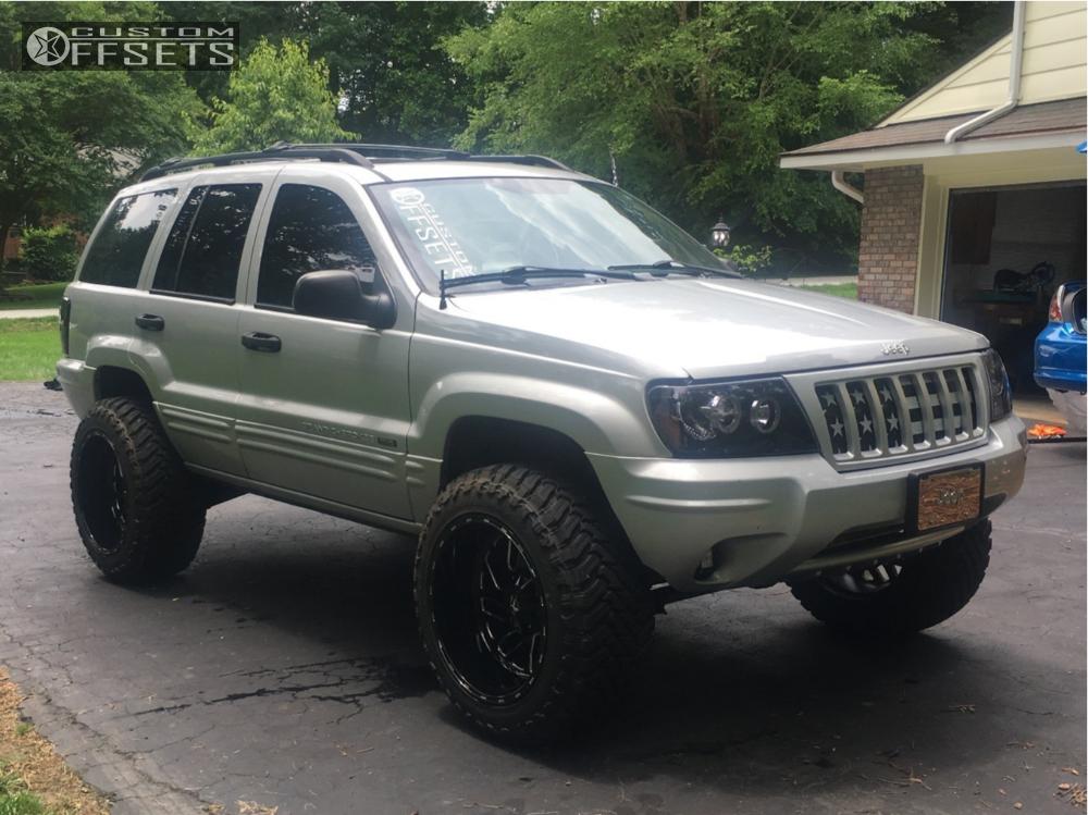 2004 Jeep Grand Cherokee Fuel Triton Rough Country Suspension Lift