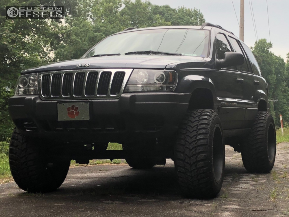 2003 jeep grand cherokee xd xd820 rough country suspension lift 4 custom offsets 2003 jeep grand cherokee xd xd820 rough