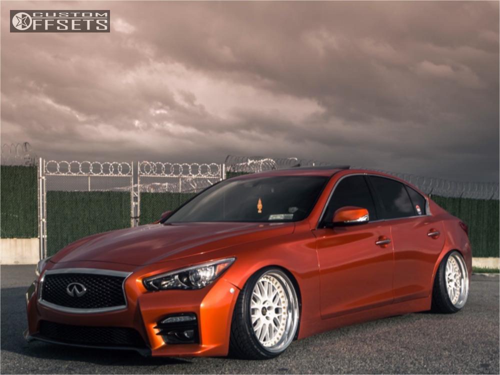 Infiniti Q50 Tires >> 2015 Infiniti Q50 Work Vs Xx Broadway Static Coilovers