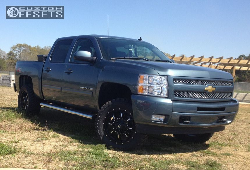 2011 chevrolet silverado 1500 fuel krank suspension lift 4in. Black Bedroom Furniture Sets. Home Design Ideas