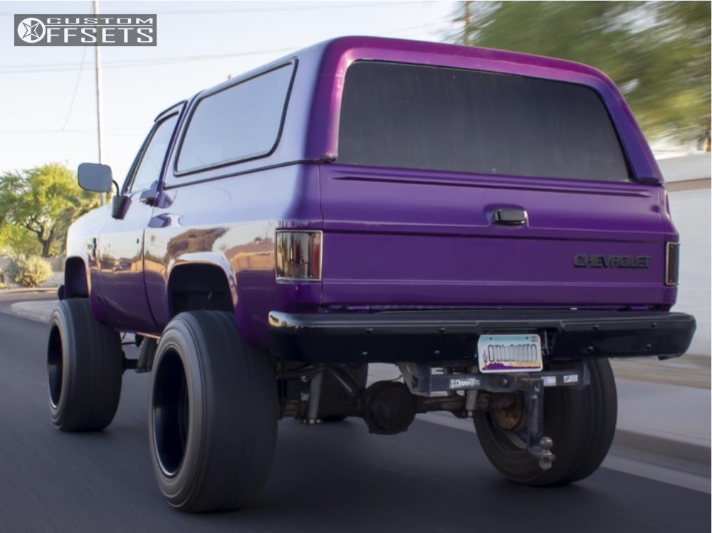 1984 Chevrolet K5 Blazer Fuel Octane Rough Country