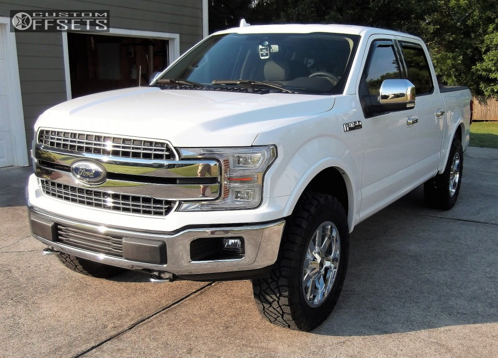 1 2018 F 150 Ford Pro Comp Leveling Kit Alloy Ion Style 141 Chrome