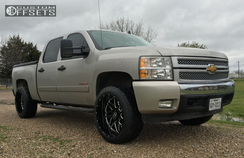wheel offset 2008 chevrolet silverado 1500 leveling kit. Black Bedroom Furniture Sets. Home Design Ideas
