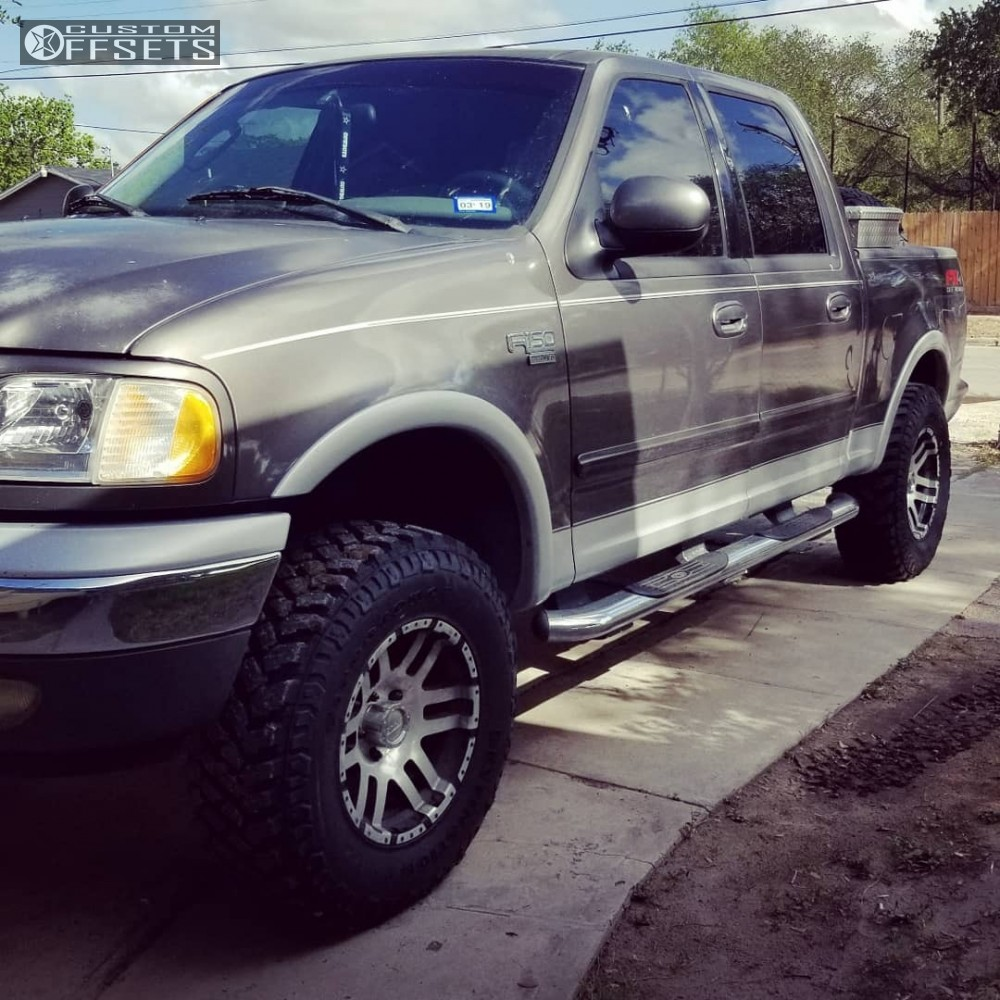 2002 Ford F 150: 2002 Ford F 150 American Eagle 79 Stock Leveling Kit
