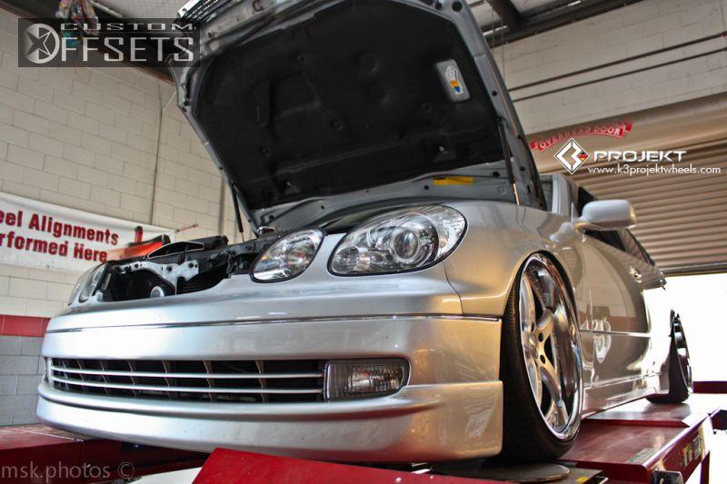 Wheel offset 2000 lexus gs 300 hellaflush bagged custom rims 6 2000 gs 300 lexus 4dr sedan bagged k3 projekt projekt 1 silver hellaflush sciox Images