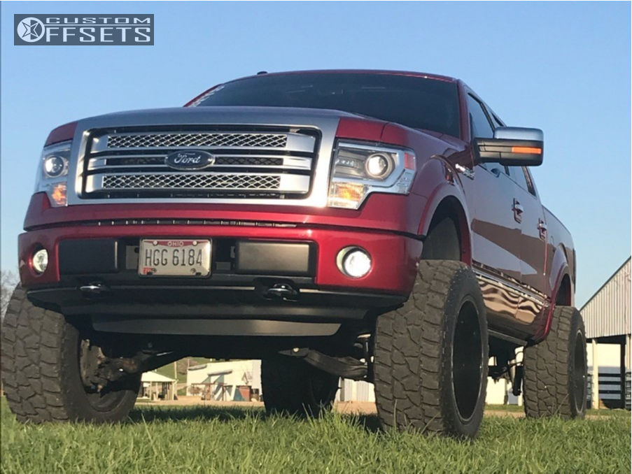 1 2014 F 150 Ford Zone Suspension Lift 6in Gear Forged F70bm1 Machined Black