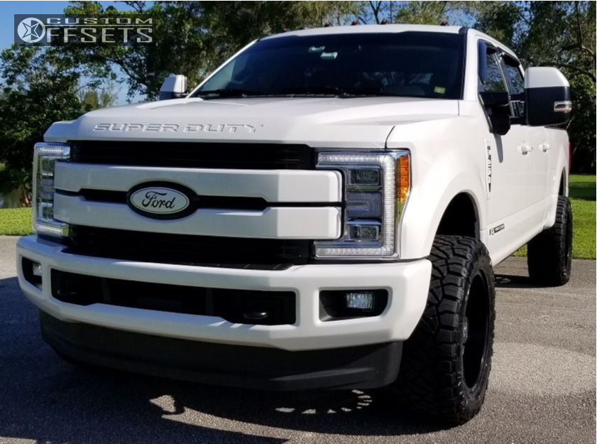1 2018 F 250 Super Duty Ford Stock Stock Hostile Predator Black