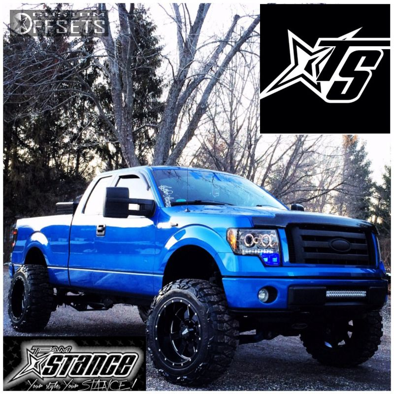 2010 F150 Custom >> 2010 Ford F 150 Moto Metal Mo962 Pro Comp Suspension Lift 6in