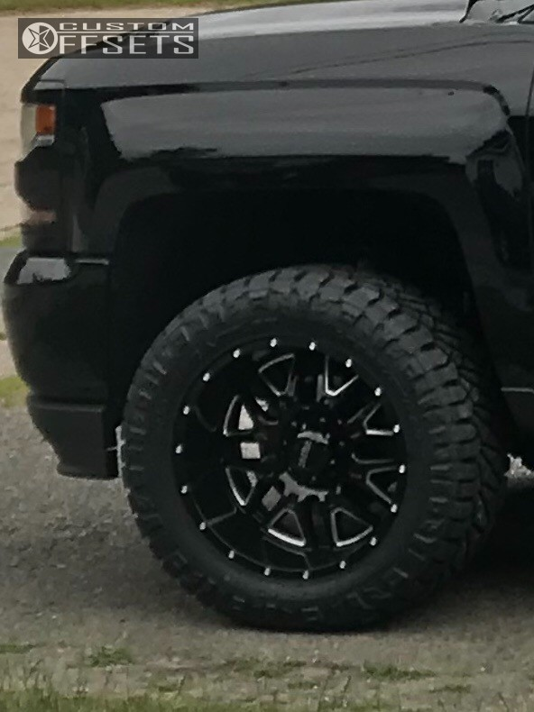 5 2018 Silverado 1500 Chevrolet Readylift Leveling Kit Ultra Hunter Black