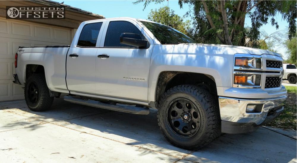 Jeep Leveling Kit >> 2014 Chevrolet Silverado 1500 Fuel Enduro Rough Country ...