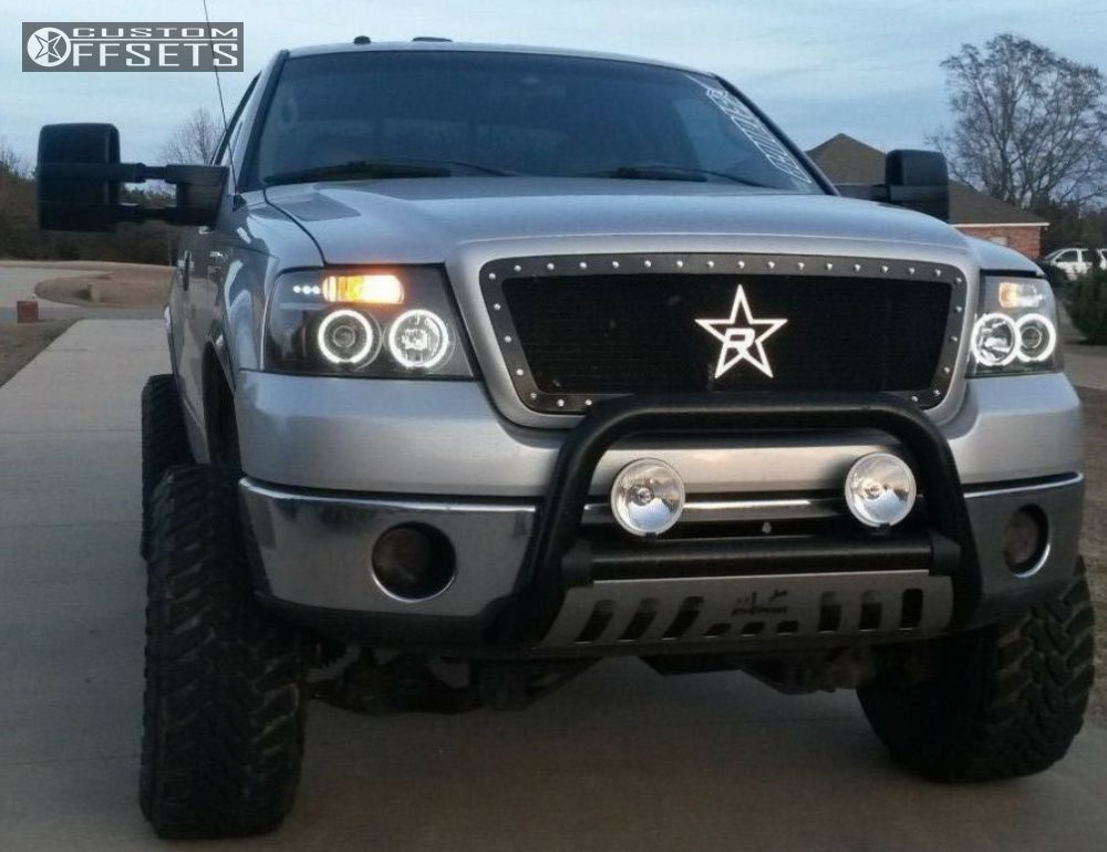 1 2006 F 150 Ford Suspension Lift 6 American Eagle 197 Super Finish Aggressive 1 Outside Fender