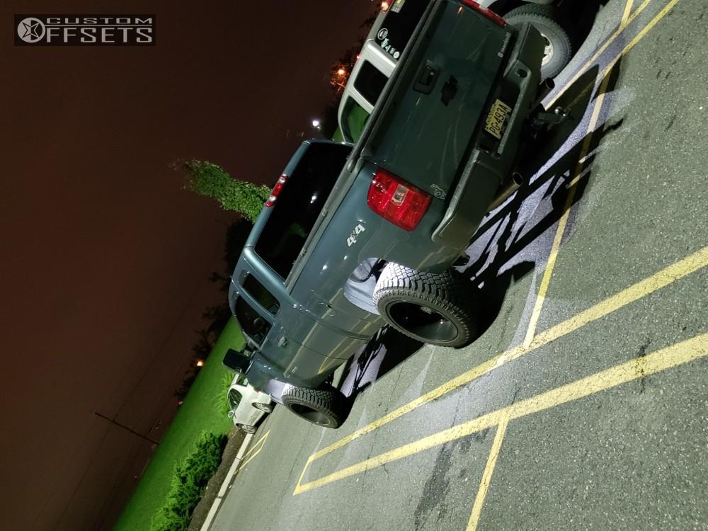 2008 Chevrolet Silverado 1500 Dwg Offroad Dw14 Rough Country
