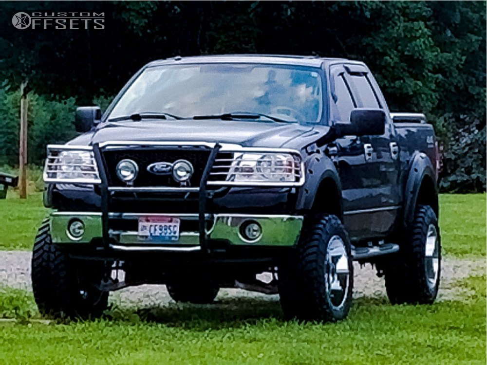 "2006 Ford F-150 Slightly Aggressive on 20x12 -44 offset Gear Off-Road Kickstand and 35""x12.5"" AMP Mud Terrain Attack Mt A on Suspension Lift 6"" - Custom Offsets Gallery"