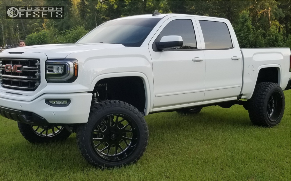 1 2018 Sierra 1500 Gmc Bds Suspension Lift 6in Gear Forged F71bm1 Black