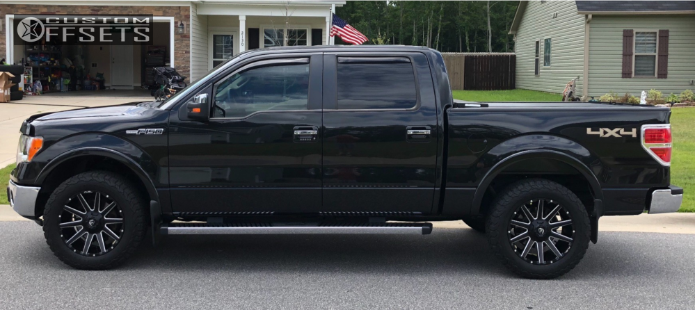Bf Goodrich All Terrain >> 2014 Ford F 150 Fuel Contra Stock Stock Custom Offsets