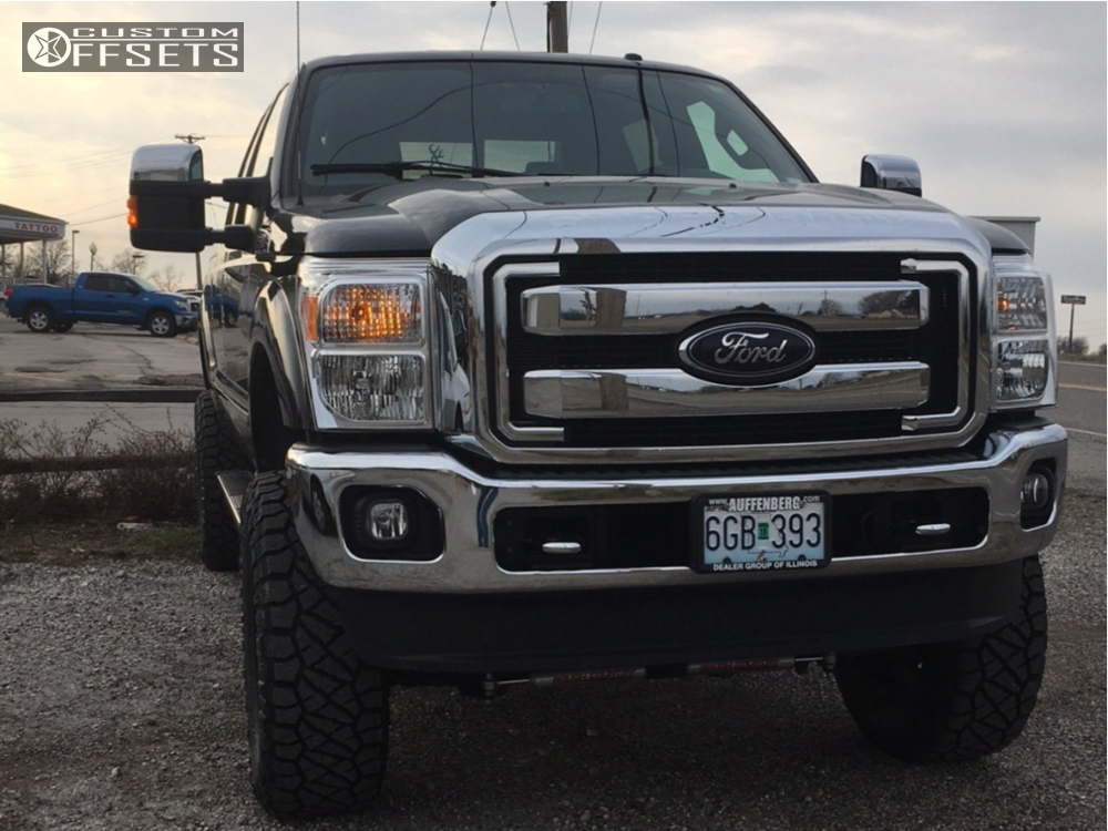 2014 Ford F 250 Super Duty Moto Metal Mo970 Rough Country Suspension