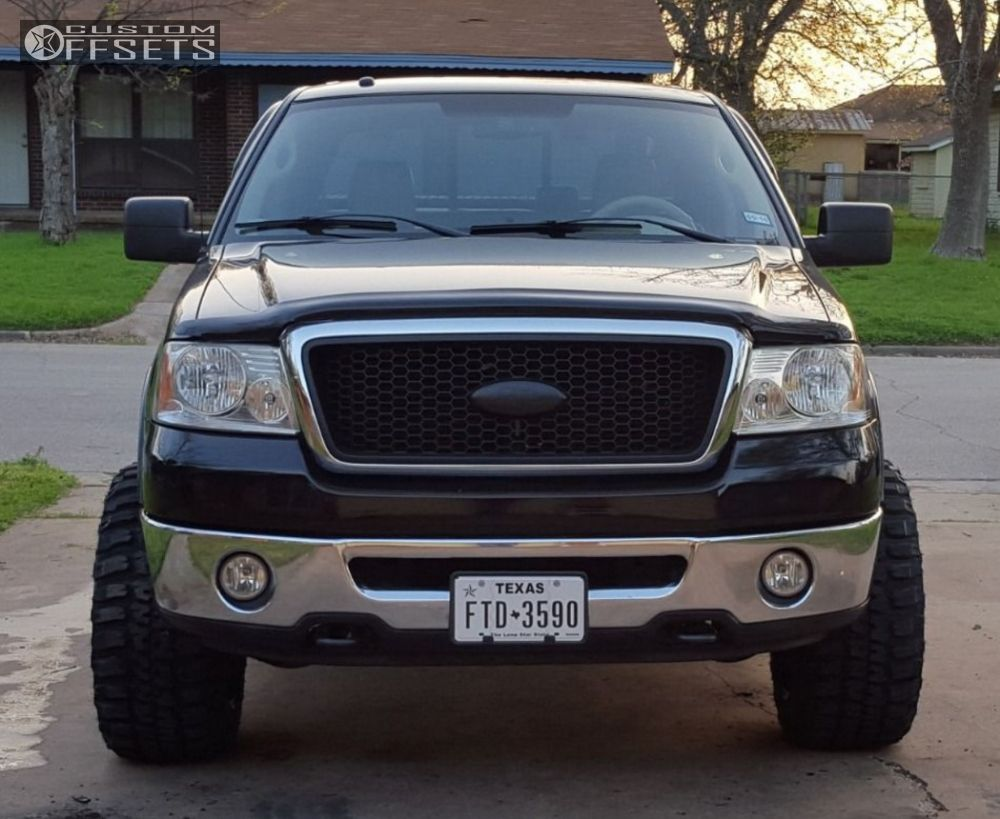 2007 ford f 150 moto metal mo970 rough country leveling kit. Black Bedroom Furniture Sets. Home Design Ideas