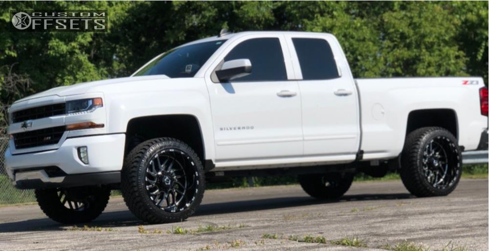 12 2018 Silverado 1500 Chevrolet Motofab Leveling Kit Tis 544bm Machined Black