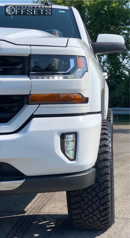 13 2018 Silverado 1500 Chevrolet Motofab Leveling Kit Tis 544bm Machined Black