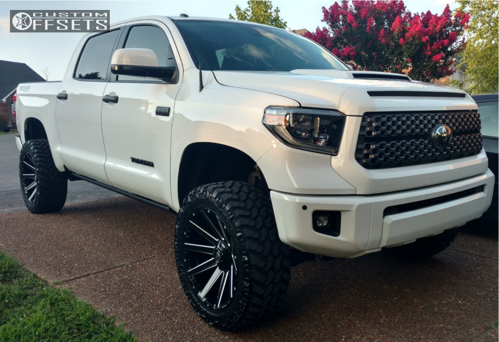 White 2015 F150 Lifted >> Fuel Contra 22x10 18 Custom Wheels