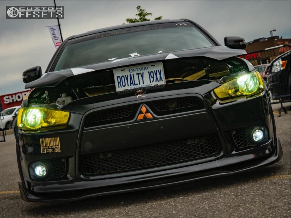 2015 Mitsubishi Lancer Xxr 527d Bc Racing | Custom Offsets