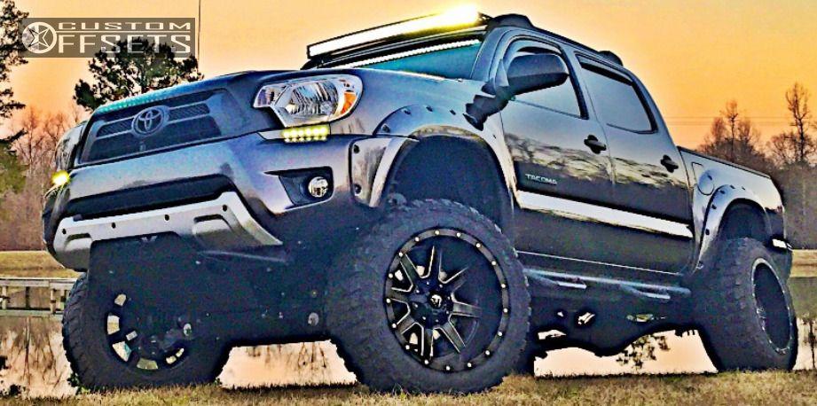 1 2013 Tacoma Toyota Suspension Lift 6 Fuel Maverick Machined Accents Super Aggressive 3 5