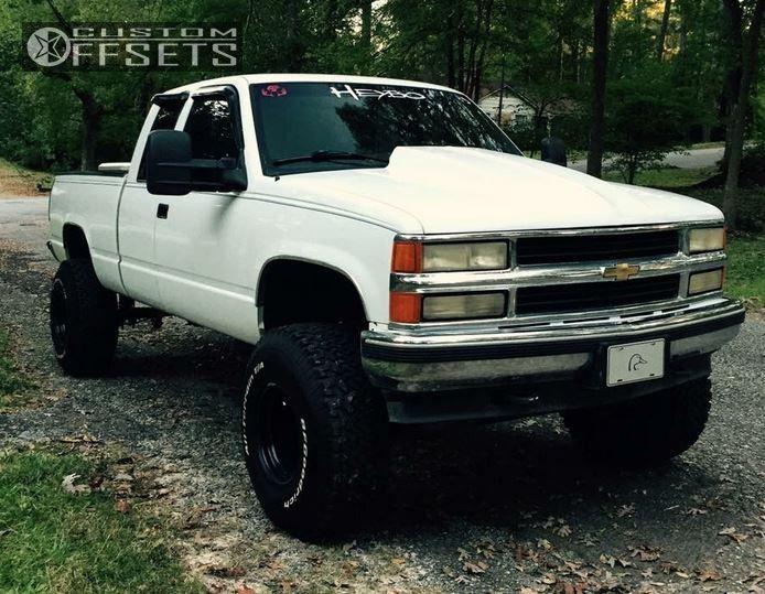 1 1995 K1500 Chevrolet Suspension Lift 6 Alloy Ion 1 Black Slightly Aggressive