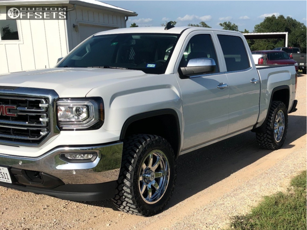 1 2018 Sierra 1500 Gmc Trail Master Leveling Kit Hostile Alpha Chrome