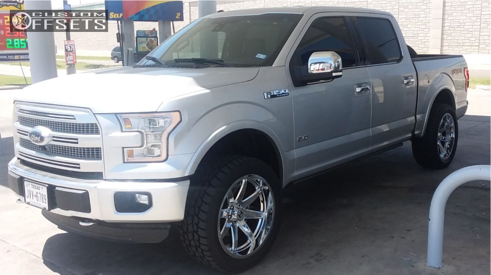 1 2016 F 150 Ford Fox Leveling Kit Hostile Alpha Chrome