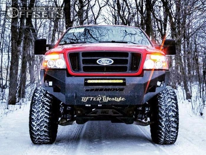 2005 Ford F 150 Moto Metal Mo967 Rough Country Suspension