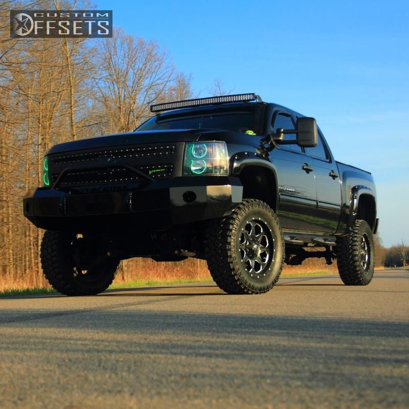 1 2011 Silverado 1500 Chevrolet Suspension Lift 75 Fuel Boost Machined Accents Slightly Aggressive