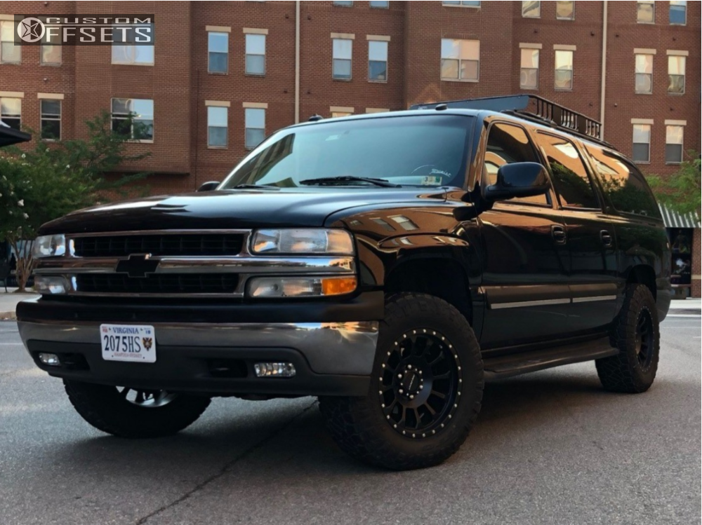 2003 chevrolet suburban 1500 pro comp series 34 rough country leveling kit custom offsets 2003 chevrolet suburban 1500 pro comp