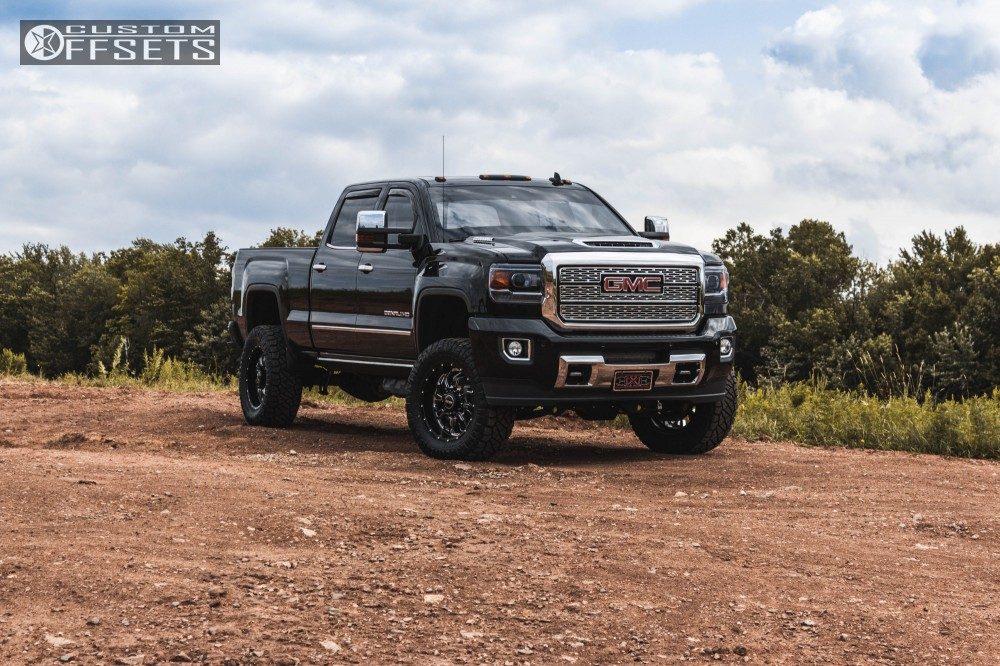 1 2018 Sierra 2500 Hd Gmc Bds Suspension Lift 45in Sota Scar Black