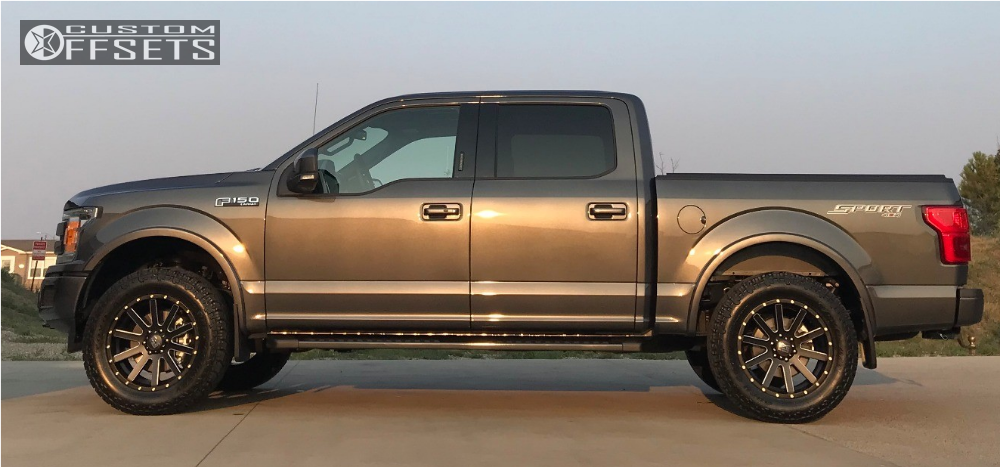 ford   xd heist ford racing performance parts leveling kit