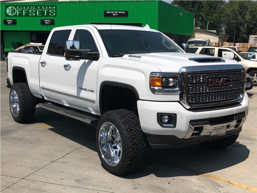 1 2019 Sierra 2500 Hd Gmc Pro Comp Suspension Lift 6in Fuel Triton Chrome