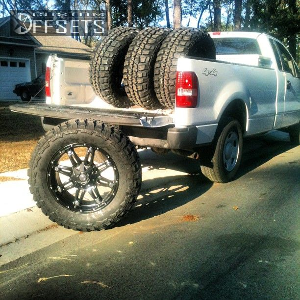 Wheel Offset 2007 Ford F 150 Super Aggressive 3 5 Leveling