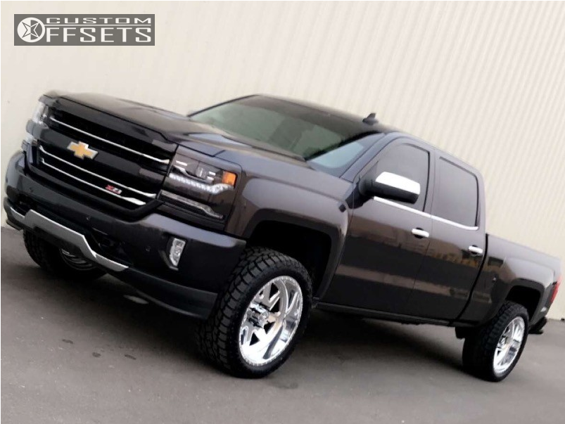 1 2016 Silverado 1500 Chevrolet Proryde Leveling Kit American Force Sight Ss Polished
